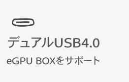 デュアルUSB4.0