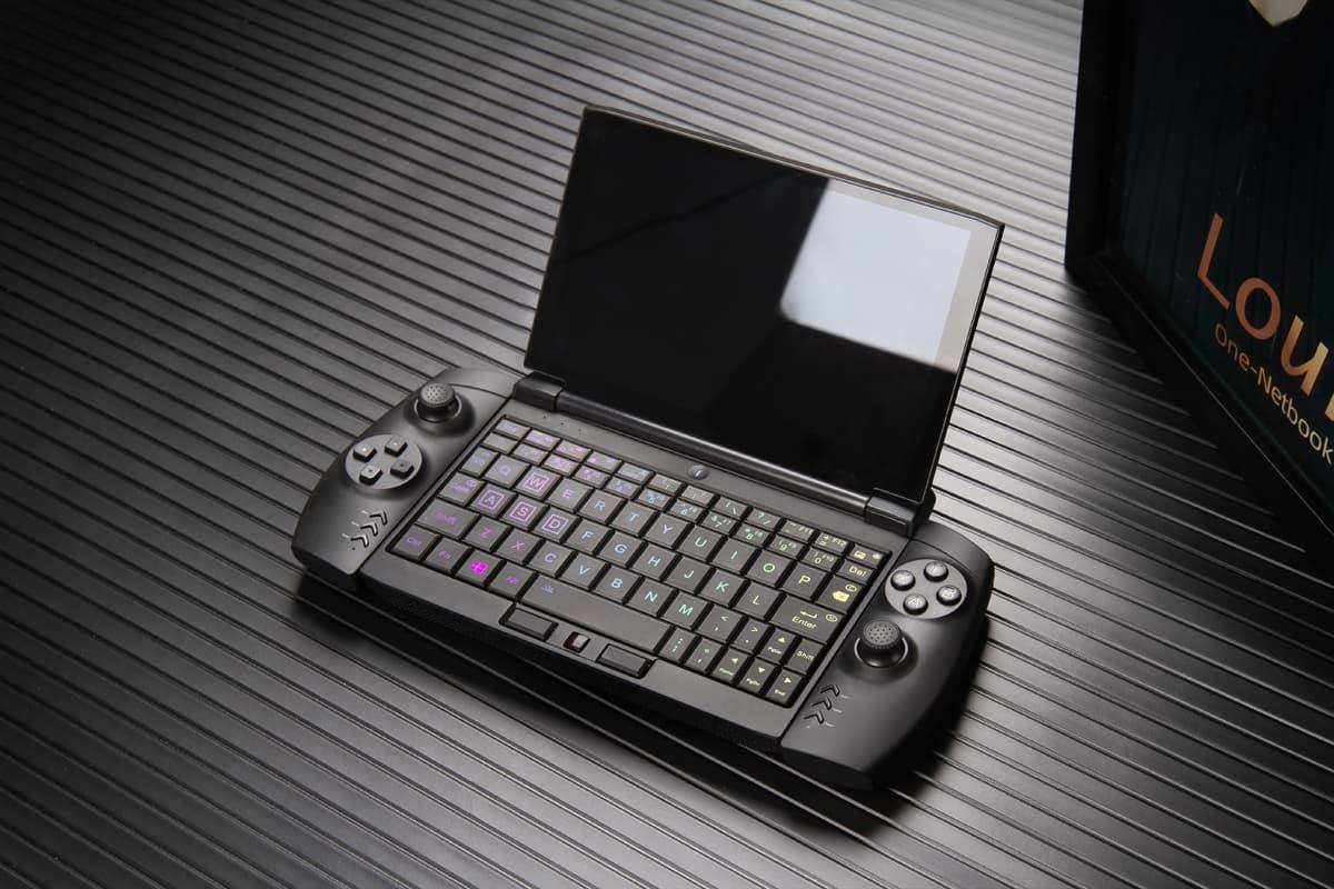 OneGx1 Proにはイルミネーションバックライトキーボード搭載